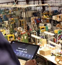 Mobile Software on the Manufacturing Shop Floor