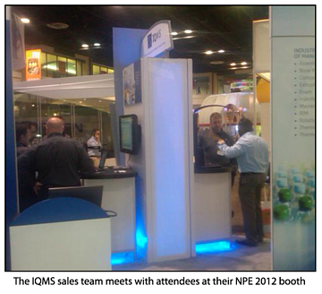 IQMS NPE Booth