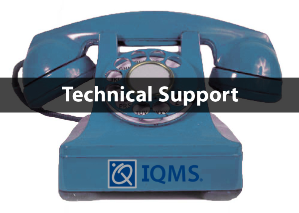 IQMS Technical Support