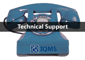 IQMS Tech Support