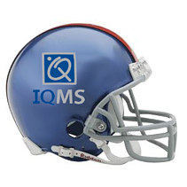 IQMS football helmet