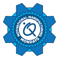 Motivational Manufacturing Monday logo