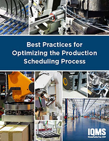 Best practiced For scheduling manufacturing production