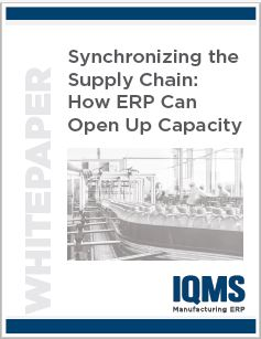 Learn how the right ERP software an synchronize the supply chain and open up capacity
