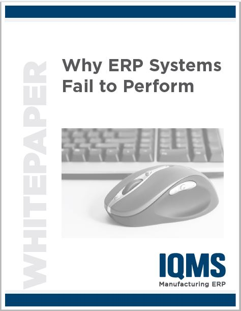 Why ERP systems fail to perform