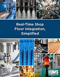 Real-TIme Shop Floor  and ERP Integration simplified