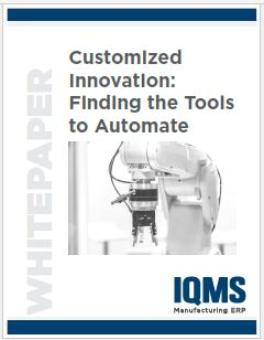 Customized automation tools for manufacturing companies